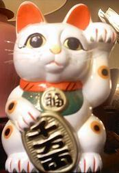 Japanese good luck bobtail cat